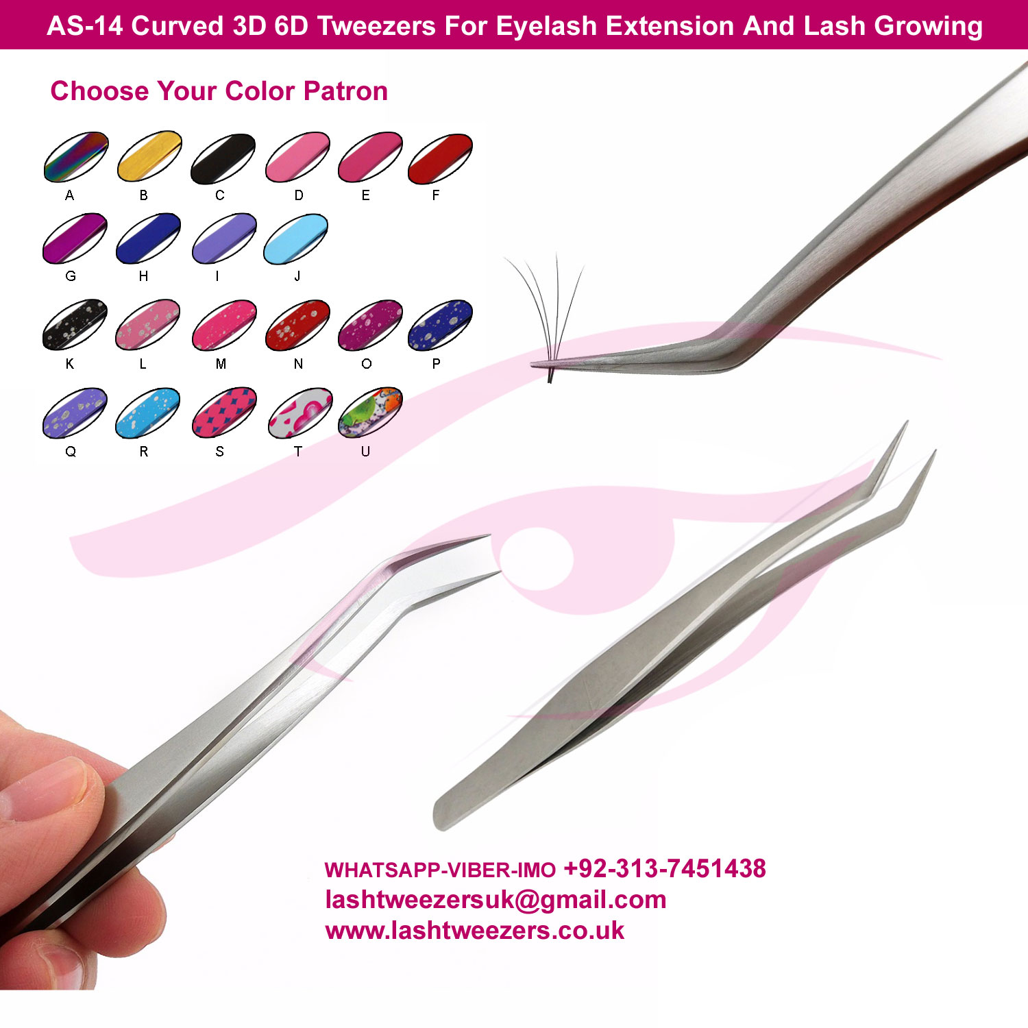 AS-14-Curved-3D-6D-Tweezers-For-Eyelash-Extension-And-Lash-Growing
