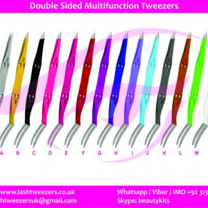 Double Sided Multifunction Tweezers