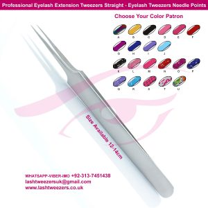 Japanese Stainless Steel Professional Eyelash Extension Tweezers