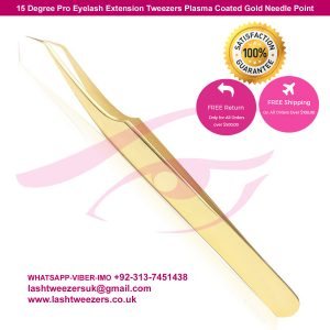 degree pro eyelash extension tweezers