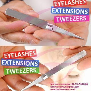 Cross Volume Pro Tweezers, Eyelash Extension Tweezers Cross Fine Point