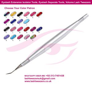 Eyelash Extension Isolator Tools, Eyelash Separate Tools, Volume Lash Tweezers