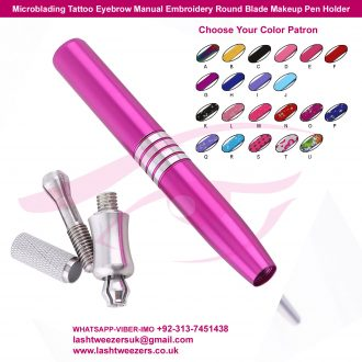 Microblading-Tattoo-Eyebrow-Manual-Embroidery-Round-Blade-Makeup-pen-holder