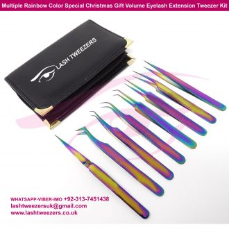 Multiple-Rainbow-Color-Special-Christmas-Gift-Volume-Eyelash-Extension-Tweezer-Kit